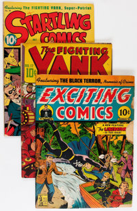 Golden Age Alex Schomburg Related Comics Group (Various Publishers, 1942-47).... (Total: 4 Comic Books)