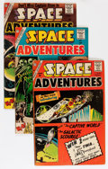 Golden Age (1938-1955):Science Fiction, Space Adventures #33-40 and 42 Group (Charlton, 1960-61) Condition:Average VG.... (Total: 9 Comic Books)