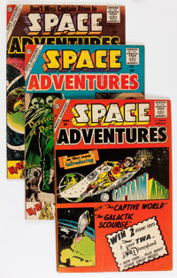 Space Adventures #33-40 and 42 Group (Charlton, 1960-61) Condition: Average VG.... (Total: 9 Comic Books)