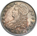 Bust Half Dollars, 1827 50C Square Base 2 MS63 PCGS. O-129, Low R.4....