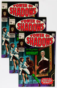 Tower of Shadows #1 Group (Marvel, 1969) Condition: Average VF.... (Total: 5 Comic Books)