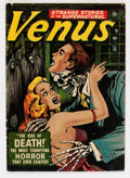 Golden Age (1938-1955):Horror, Venus #19 (Timely, 1952) Condition: GD....