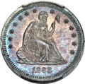 Proof Seated Quarters, 1868 25C PR65 PCGS....