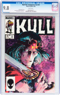 Modern Age (1980-Present):Miscellaneous, Kull the Conqueror V3#9 (Marvel, 1985) CGC NM/MT 9.8 White pages....