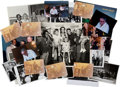 Movie/TV Memorabilia:Photos, A Frank Sinatra Group of Color and Black and White Photographs,1960s-1990s....