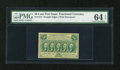 Fractional Currency:First Issue, Fr. 1312 50c First Issue PMG Choice Uncirculated 64 EPQ....