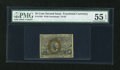 Fractional Currency:Second Issue, Fr. 1284 25c Second Issue PMG About Uncirculated 55 EPQ....