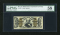Fractional Currency:Third Issue, Fr. 1331 50c Third Issue Spinner PMG Choice About Unc 58....