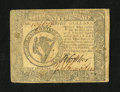 Colonial Notes:Continental Congress Issues, Continental Currency September 26, 1778 $8 Fine-Very Fine....