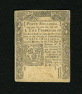 Colonial Notes:Connecticut, Connecticut June 19, 1776 40s Uncancelled Very Fine....
