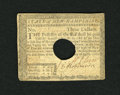 Colonial Notes:New Hampshire, New Hampshire April 29, 1780 $3 Very Fine....