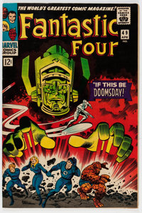 The Fantastic Four #49 (Marvel, 1966) Condition: VF