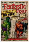 Silver Age (1956-1969):Superhero, The Fantastic Four #12 (Marvel, 1963) Condition: GD/VG....
