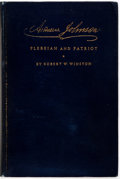 Books:Biography & Memoir, Robert W. Winston. Andrew Johnson: Plebeian and Patriot.Henry Holt and Company, 1928. First edition. Illustrate...