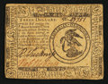 Colonial Notes:Continental Congress Issues, Continental Currency May 10, 1775 $3 Very Fine-Extremely Fine.. ...