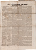 Miscellaneous:Newspaper, [Newspaper]. Portsmouth Journal, October 17, 1835....