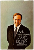 Books:Biography & Memoir, James Dickey. Self-Interviews. Doubleday & Company,1970. No edition stated. Publisher's original cloth and dust...