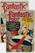 Silver Age (1956-1969):Superhero, The Fantastic Four Silver #3 and 5 UK Edition Group (Marvel, 1962) Condition: Average GD.... (Total: 2 Comic Books)