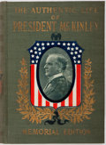 Books:Biography & Memoir, Alexander K. McClure and Charles Morris. The Authentic Life ofWilliam McKinley Our Third Martyr President Together With...