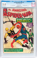 Silver Age (1956-1969):Superhero, The Amazing Spider-Man #16 (Marvel, 1964) CGC GD/VG 3.0 Off-white pages....