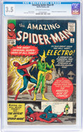 Silver Age (1956-1969):Superhero, The Amazing Spider-Man #9 (Marvel, 1964) CGC VG- 3.5 Off-white to white pages....