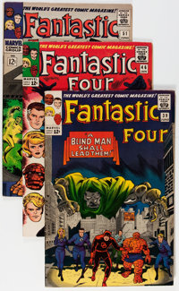 Fantastic Four Group (Marvel, 1965-67) Condition: Average FN+.... (Total: 5 Comic Books)