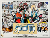 """This is Spinal Tap (Mainland Pictures, 1984). British Quad (30"""" X 40""""). Rock and Roll"""