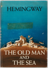 Ernest Hemingway. The Old Man and the Sea. Charles Scribner's Sons, 1952. First edit