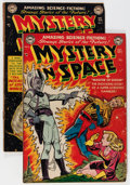 Golden Age (1938-1955):Science Fiction, Mystery in Space #4 and 5 Group (DC, 1951-52).... (Total: 2 ComicBooks)