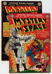 Mystery in Space #4 and 5 Group (DC, 1951-52).... (Total: 2 Comic Books)