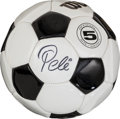 Miscellaneous Collectibles:General, Pele Signed Soccer Ball. ...