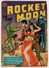 Rocket to the Moon nn (Avon, 1951) Condition: GD/VG