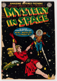 Mystery in Space #1 (DC, 1951) Condition: FR