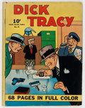 Golden Age (1938-1955):Crime, Four Color (Series One) #21 Dick Tracy (Dell, 1942) Condition: GD+....