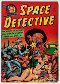 Space Detective #3 (Avon, 1952) Condition: VG/FN