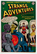 Golden Age (1938-1955):Science Fiction, Strange Adventures #14 (DC, 1951) Condition: FN/VF....
