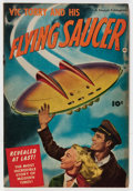 Golden Age (1938-1955):Science Fiction, Vic Torry & His Flying Saucer #nn (Fawcett Publications, 1950)Condition: VG+....