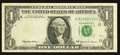 Error Notes:Obstruction Errors, Fr. 1925-K $1 1999 Federal Reserve Note. Very Fine-Extremely Fine.....