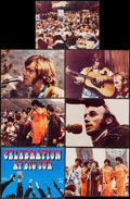 "Movie Posters:Rock and Roll, Celebration at Big Sur (20th Century Fox, 1971). Deluxe Title Lobby Card (11"" X 14""), & Deluxe Lobby Cards (6) (10.5"" X 14"")... (Total: 7 Items)"