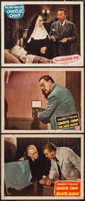 """Movie Posters:Mystery, Black Magic & Others Lot (Monogram, 1944). Lobby Cards (3) (11"""" X 14""""). Mystery.. ... (Total: 3 Items)"""