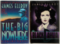 Books:Mystery & Detective Fiction, James Ellroy. SIGNED. Two First Editions, including: The BlackDahlia [and:] The Big Nowhere. Mysterious Pre... (Total:2 Items)