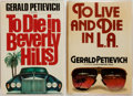 Books:Mystery & Detective Fiction, Gerald Petievich. Two First Editions, including: To Die inBeverly Hills [and:] To Live and Die in L.A. New ...(Total: 2 Items)