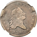 Early Half Dollars, 1794 50C -- Bent, Damaged -- NGC Details. Fine. O-107, R.6....