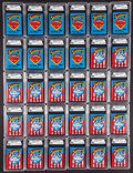 "Non-Sport Cards:Unopened Packs/Display Boxes, 1980's Topps ""Superman"" GAI Gem Mint 9.5 Unopened Wax PacksCollection (30). ..."