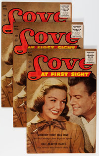 Love at First Sight #43 Group (Ace, 1956) Condition: Average VF.... (Total: 10 Comic Books)