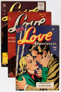 Golden Age (1938-1955):Romance, Love Experiences #6, 27, and 38 Group (Ace, 1951-56) Condition: Average FN/VF.... (Total: 6 Comic Books)