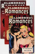Golden Age (1938-1955):Romance, Glamorous Romances Group (Ace, 1950-56) Condition: AverageFN/VF.... (Total: 12 Comic Books)