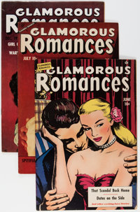 Glamorous Romances Group (Ace, 1950-56) Condition: Average FN/VF.... (Total: 12 Comic Books)