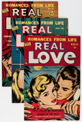 Golden Age (1938-1955):Romance, Real Love Group (Ace Periodicals, 1950-56) Condition: Average VF-.... (Total: 25 Comic Books)