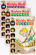 Silver Age (1956-1969):Humor, Richie Rich Success Stories Group (Harvey, 1969-70) Condition:Average FN/VF.... (Total: 38 Comic Books)